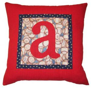 Monogrammed Pillows - 1
