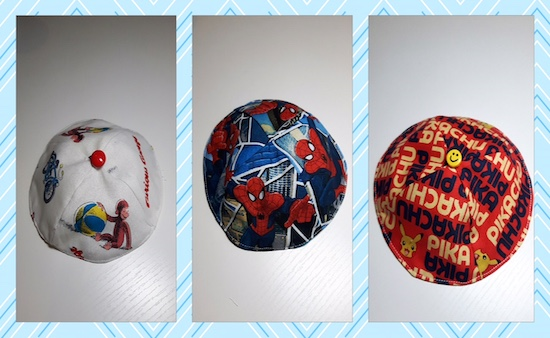 Kartoon Kippahs
